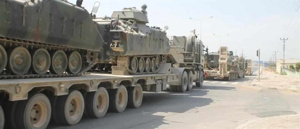 Τουρκικά ΜΜΕ: άρματα μάχης στα ελληνοτουρκικά σύνορα μεταφέρει η Τουρκία (εικόνες)