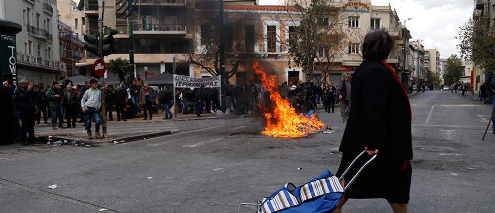 Η μάχη της… Κρήτης στην πλατεία Βάθη
