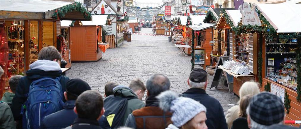 Συναγερμός σε Χριστουγεννιάτικη αγορά στο Πότσδαμ
