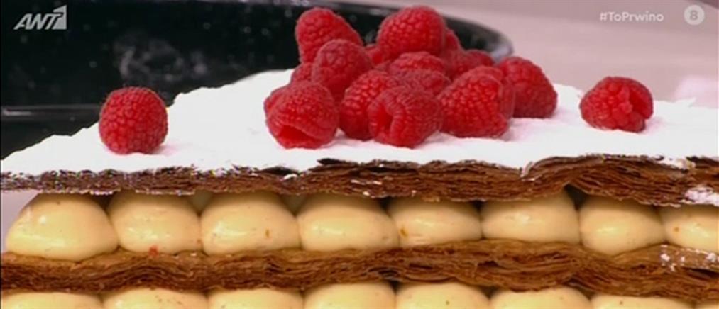 Tarte tatin από τον σεφ της Γαλλικής Πρεσβείας