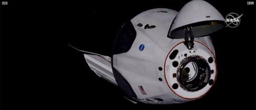 Στον Διεθνή Διαστημικό Σταθμό το SpaceX (βίντεο)