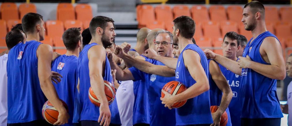 """Με απουσίες η Εθνική στον αγώνα – """"κλειδί"""" για την πρόκριση στο Μουντομπάσκετ"""