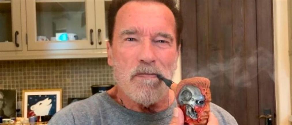 Πίπα - Terminator πήρε δώρο ο Σβαρτζενέγκερ