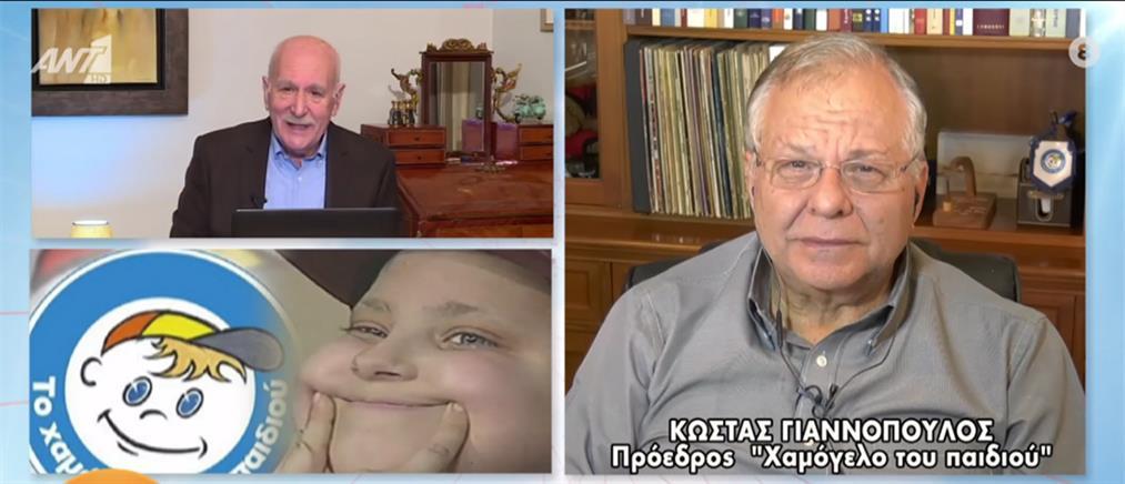 """Γιαννόπουλος στον ΑΝΤ1: """"Το Χαμόγελο του Παιδιού"""" ανήκει σε όλους τους Έλληνες (βίντεο)"""