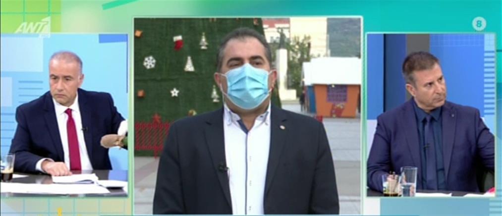 Ο Δήμαρχος Καλαμάτας στον ΑΝΤ1 για τα rapid test και τα γεύματα αγάπης (βίντεο)