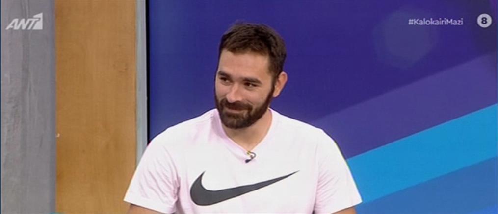 Ιακωβίδης στον ΑΝΤ1: Θέλω να βοηθήσω και άλλους συναθλητές μου (βίντεο)