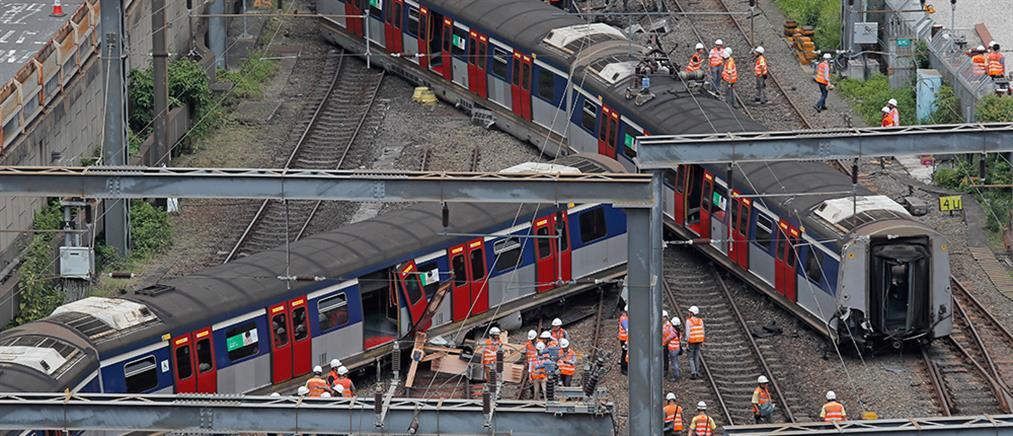 Εκτροχιάστηκε συρμός του μετρό στο Χονγκ Κονγκ (βίντεο)