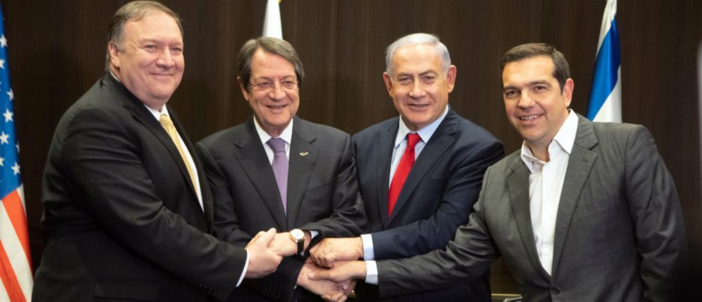 Στηρίζουν οι ΗΠΑ τον άξονα Ισραήλ, Ελλάδας και Κύπρου – Μήνυμα στην Άγκυρα