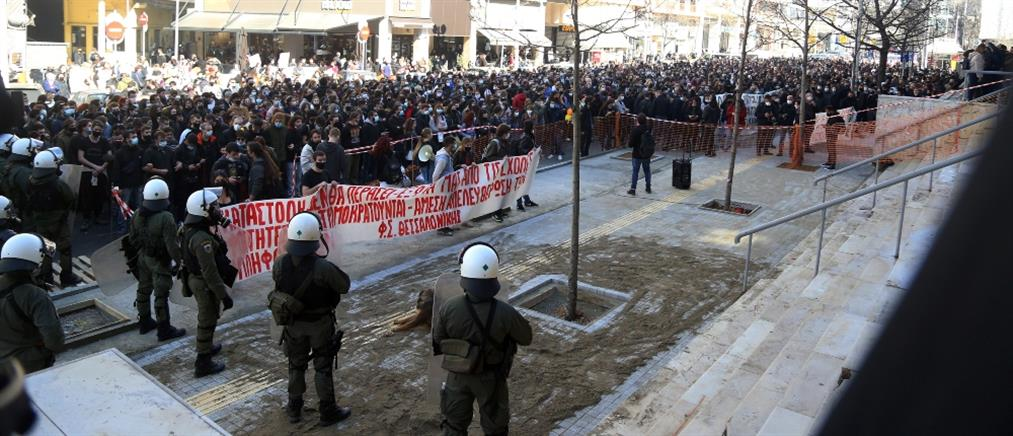 ΑΠΘ: Διώξεις στους συλληφθέντες και πορεία αλληλεγγύης (εικόνες)