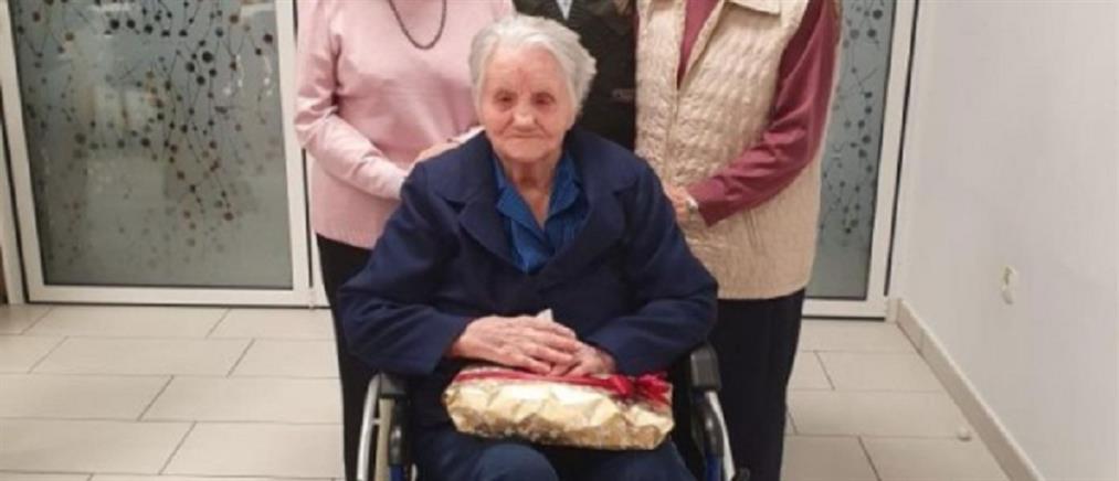 Γιαγιά 106 ετών νίκησε τον κορονοϊό