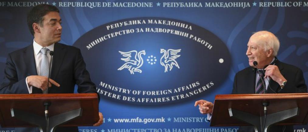 Νίμιτς προς Σκοπιανούς: Ίσως δεν υπάρξει άλλη ευκαιρία να μπείτε στην ΕΕ