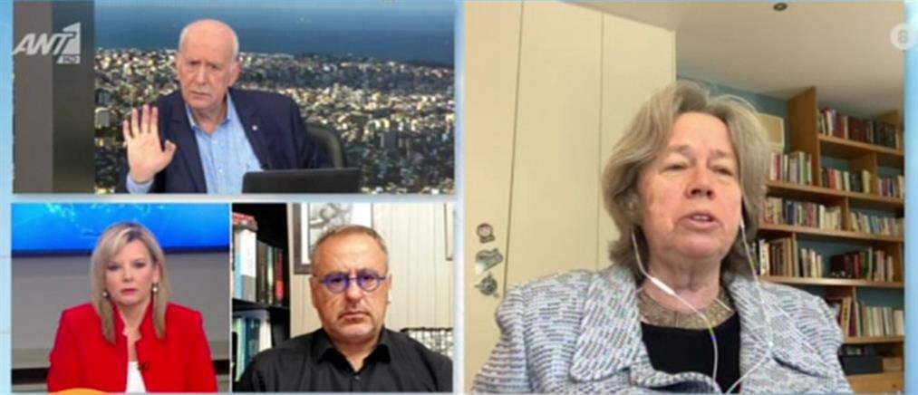 Κορονοϊός - Λινού στον ΑΝΤ1: δεν τηρούνται μέτρα, με ευθύνη της Πολιτείας (βίντεο)