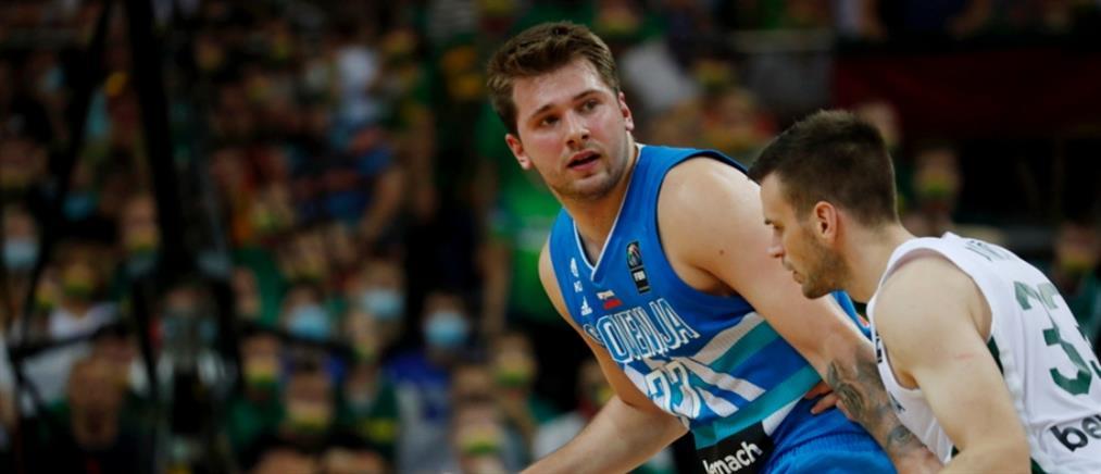 Προολυμπιακό Tουρνουά: Ο Ντόνσιτς έστειλε την Σλοβενία στο Τόκιο!