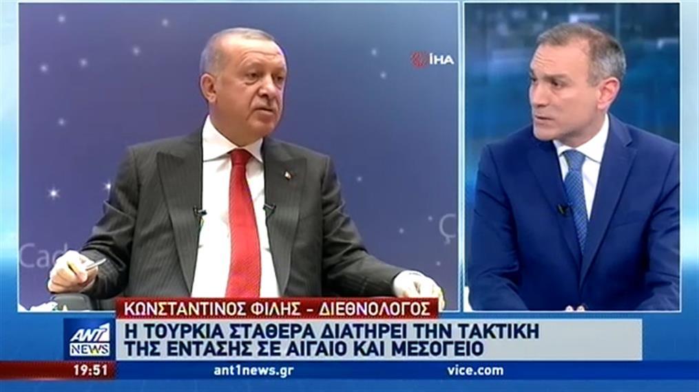 Φίλης στον ΑΝΤ1: Η Τουρκία καθιστά σαφές ότι η διαπραγμάτευση γίνεται με τους δικούς της όρους