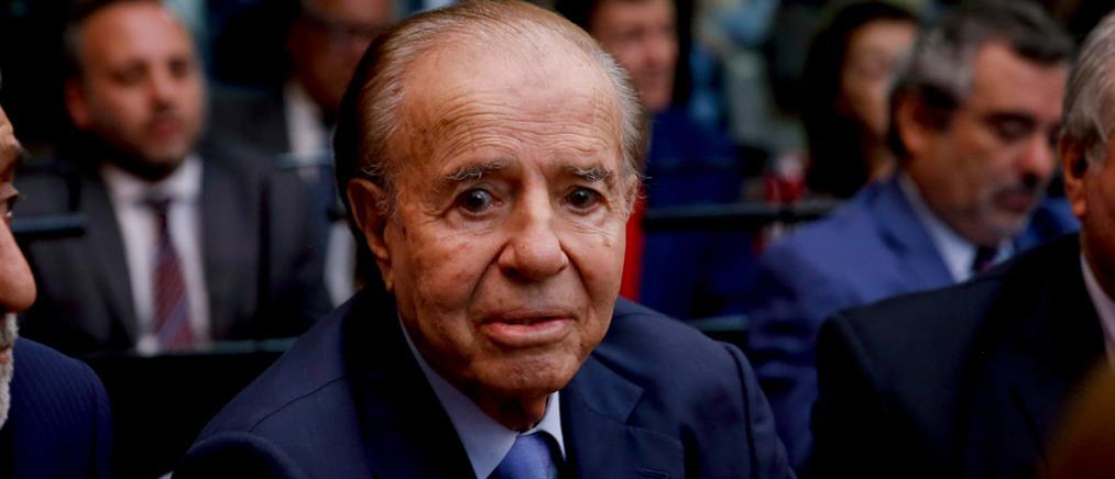 Αργεντινή: Πέθανε ο Κάρλος Μένεμ