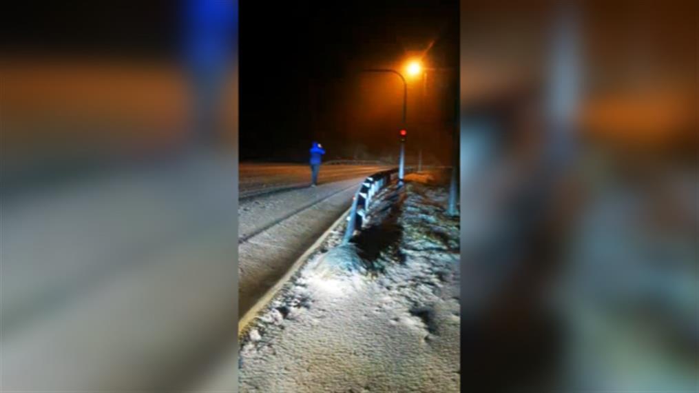Χιόνια στην Νυμφαία Ροδόπης