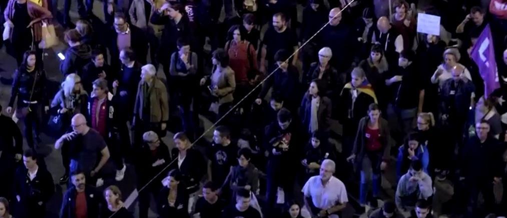 Καταλονία: Συνεχίζονται οι διαδηλώσεις για την ανεξαρτησία (βίντεο)