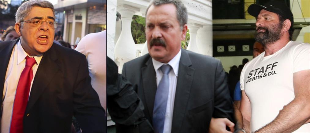 Παρατάθηκαν με βουλεύματα οι κρατήσεις για Μιχαλολιάκο, Παππά και Λαγό