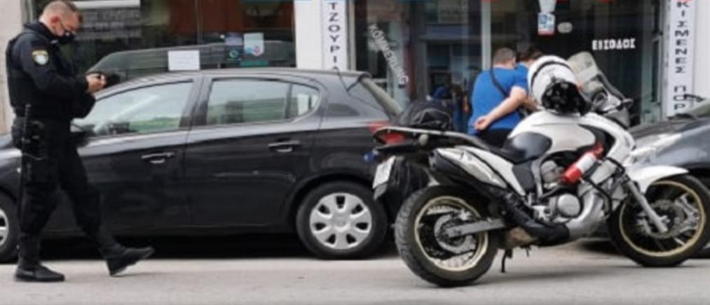Θεσσαλονίκη: Ξυλοδαρμός μοτοσικλετιστή