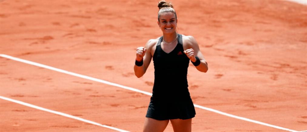 "Roland Garros - Σάκκαρη: Ένα μεγάλο ""ευχαριστώ"" σε όλους τους Έλληνες (βίντεο)"