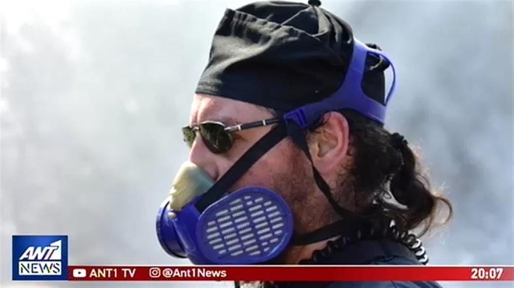 Ο παπάς-εθελοντής πυροσβέστης του Ναυπλίου μιλά στον ΑΝΤ1