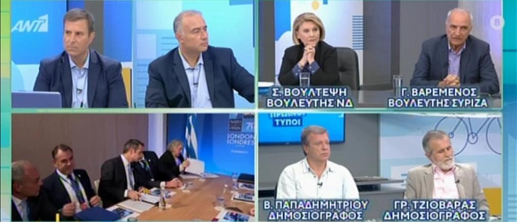 Βούλτεψη - Βαρεμένος στον ΑΝΤ1: κόντρα για την Novartis (βίντεο)
