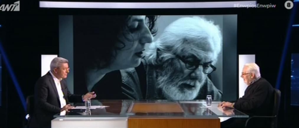 Ο Γιώργος Μιχαλακόπουλος για την κουμπαριά με την Αλίκη και τον Κάρολο Κουν (βίντεο)