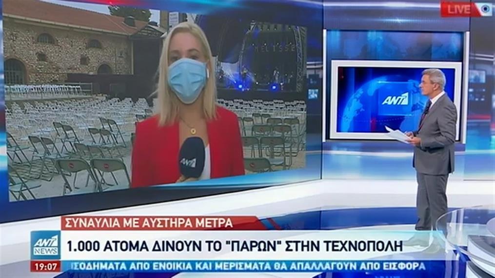 Με μάσκες, μέτρα και μειωμένη πληρότητα οι εκδηλώσεις στην Τεχνόπολη