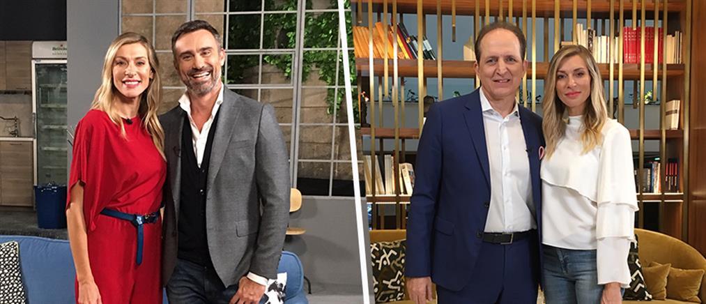 """Γιώργος Καπουτζίδης και Νικήτας Κωνσταντέλλος στο """"Thrive"""""""