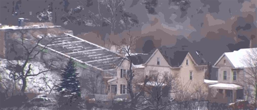 Κατεδάφιση γέφυρας με εκρηκτικά (βίντεο)