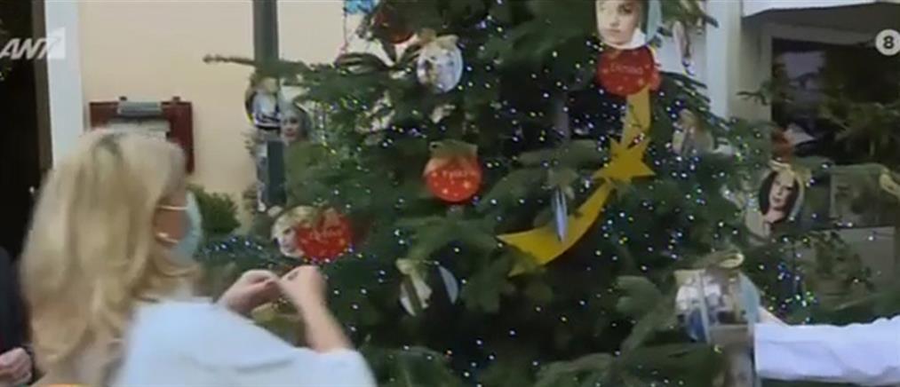 Ευαγγελισμός: Με τους ήρωες που μάχονται με τον κορονοϊό τα στολίδια στο χριστουγεννιάτικο δέντρο