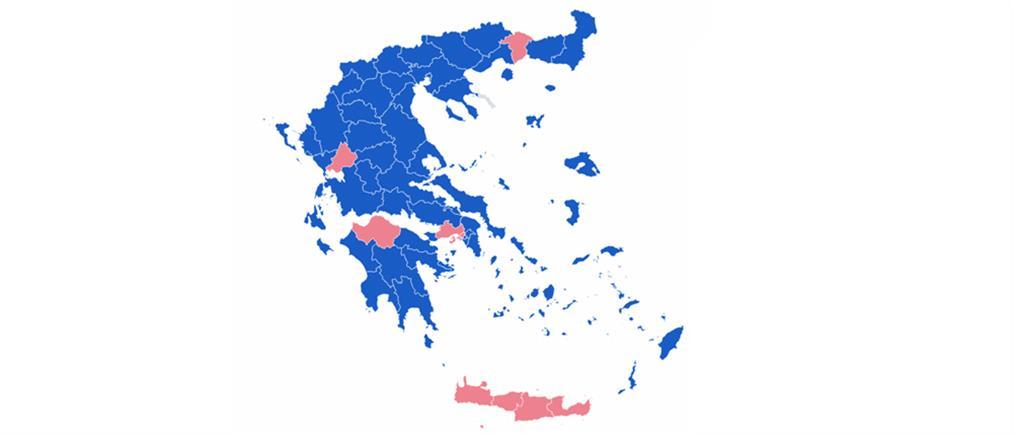 Εκλογές 2019: Τα επίσημα αποτελέσματα