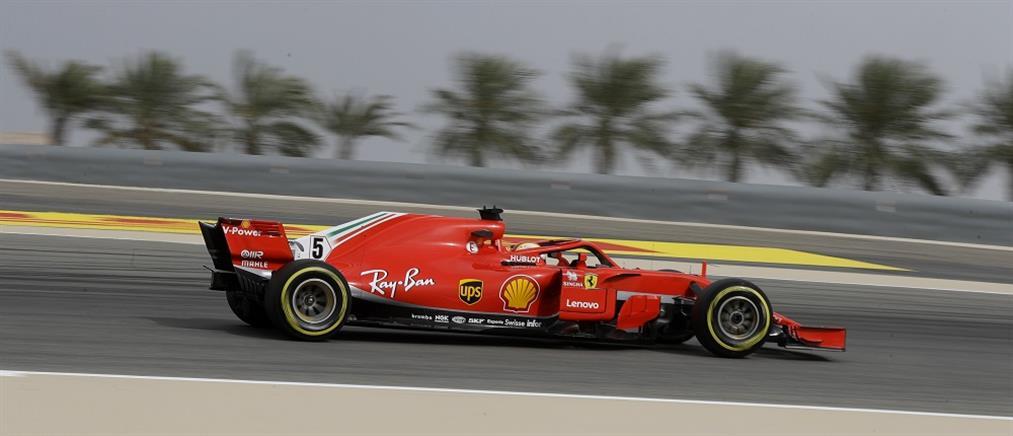Ο Φέτελ την pole position στο Μπαχρέιν
