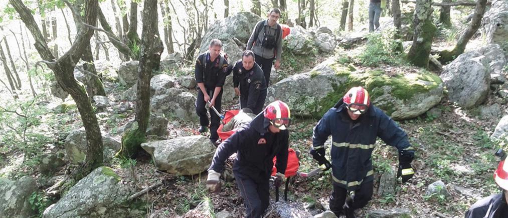 Ολονύχτια επιχείριση διάσωσης τραυματία στη Λευκάδα