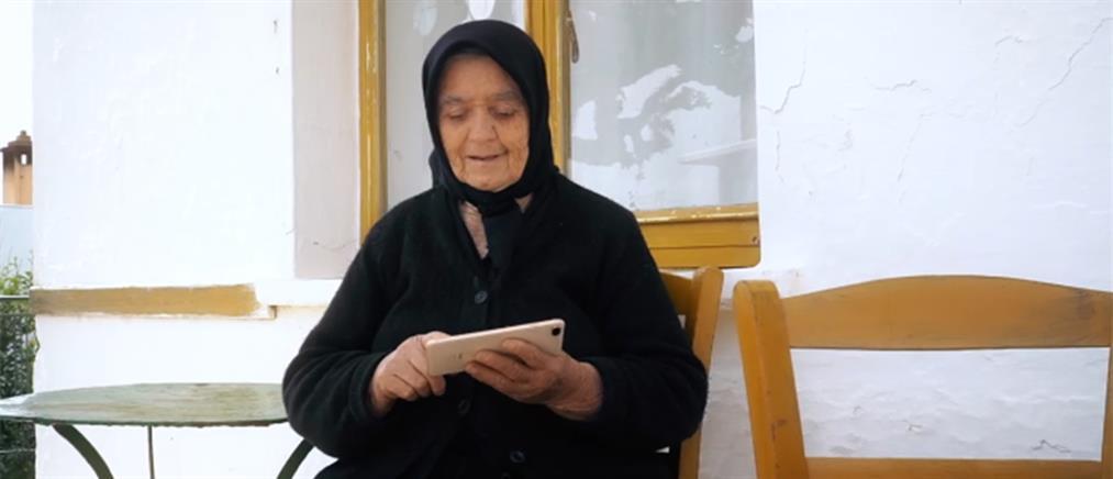 """Η γιαγιά του Ημιμαραθωνίου Κρήτης """"ξαναχτυπά"""" με επικές ατάκες (βίντεο)"""