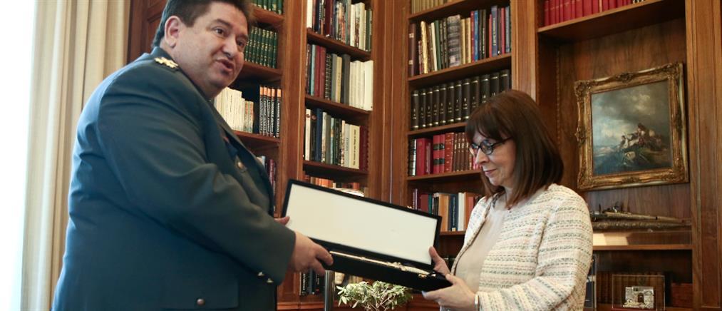 """Το """"ευχαριστώ"""" της Κατερίνας Σακελλαροπούλου στην Αστυνομία"""