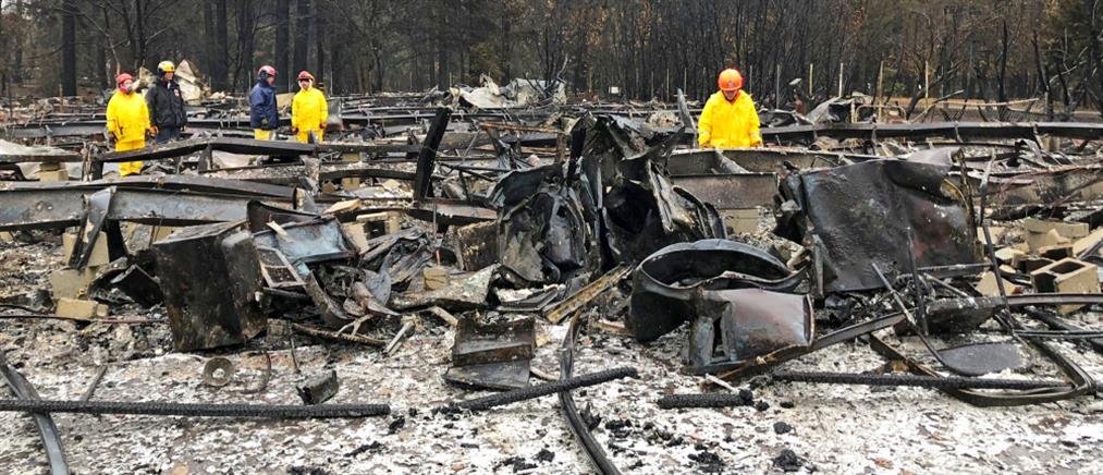 Υπό πλήρη έλεγχο η φωτιά στην Καλιφόρνια