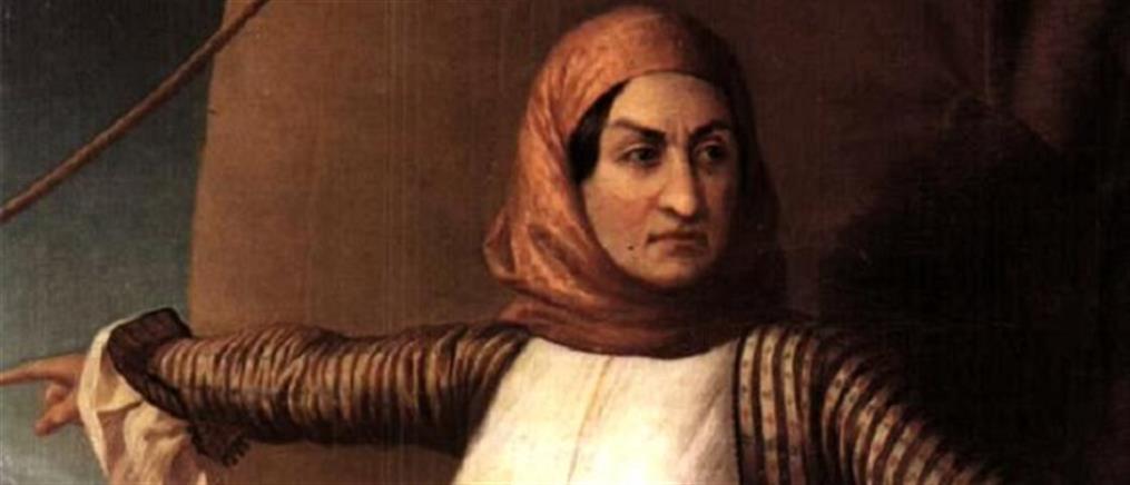 Υποναύαρχος επί τιμή η Λασκαρίνα Μπουμπουλίνα