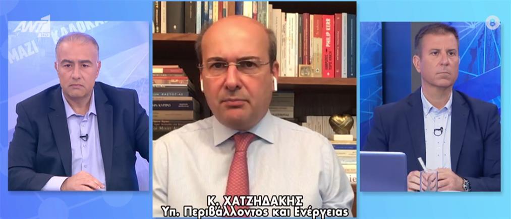 Χατζηδάκης στον ΑΝΤ1: βαθύ πολιτικό θέμα οι καταγγελίες Καλογρίτσα (βίντεο)