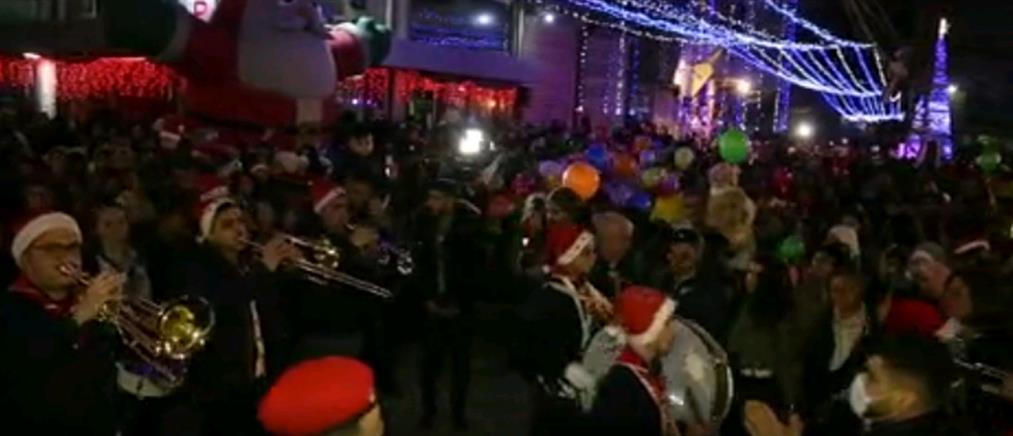 Χριστουγεννιάτικη γιορτή και χαμόγελα στη Συρία (εικόνες)