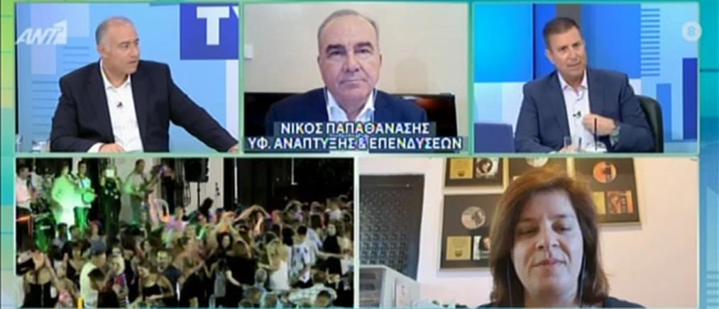 Η Γωγώ Τσαμπά στον ΑΝΤ1 για τον κορονοϊό και τα πανηγύρια (βίντεο)