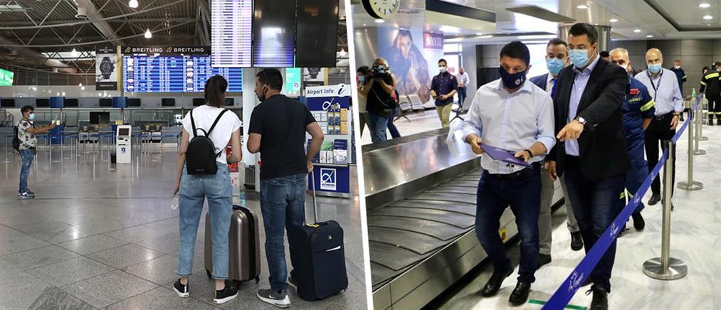 """""""Αψίδα"""" για την πρώτη πτήση στο αεροδρόμιο """"Μακεδονία"""" (εικόνες)"""