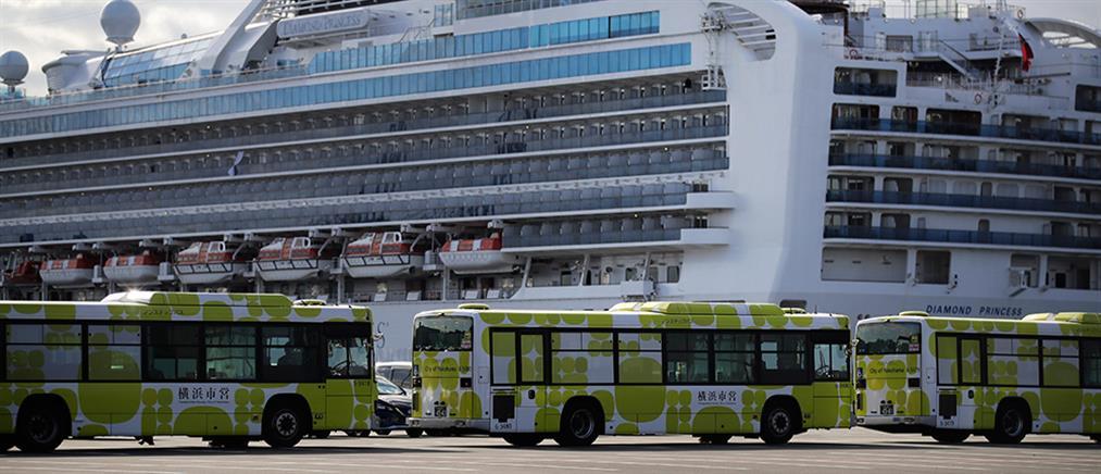Κορονοϊός: έφτασαν στην Ελλάδα οι δυο Έλληνες που επέβαιναν στο κρουαζιερόπλοιο με τα εκατοντάδες κρούσματα