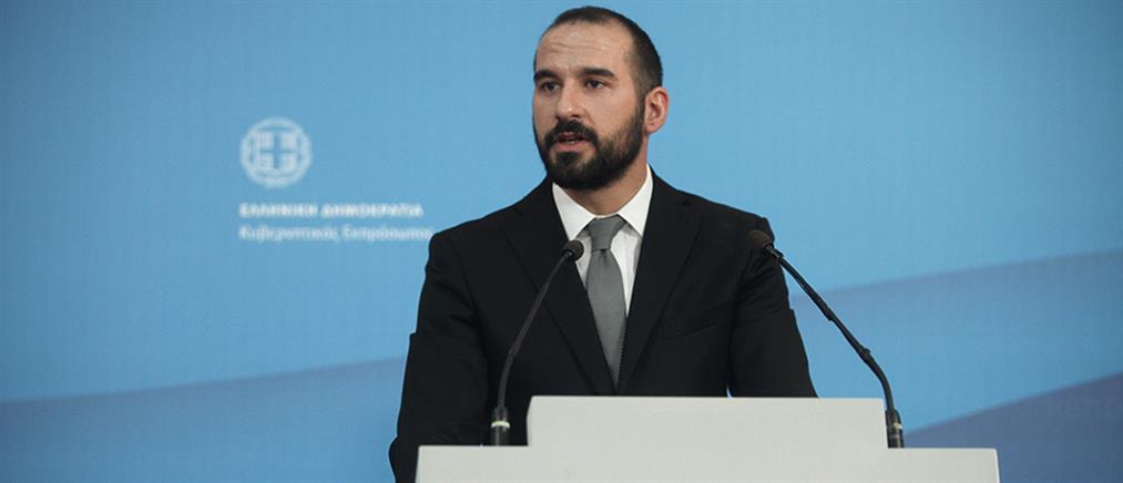 """Τζανακόπουλος: καμία συζήτηση για """"κόφτη"""" σε αφορολόγητο και συντάξεις"""