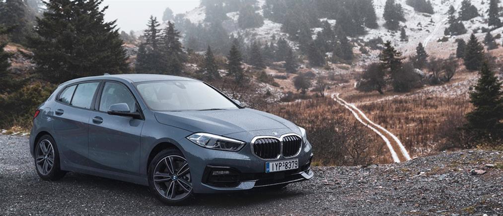 """Η νέα BMW Σειρά 1 φιλοξενεί στο """"σαλόνι"""" της μια σειρά επιτυχημένων Αθηναίων"""