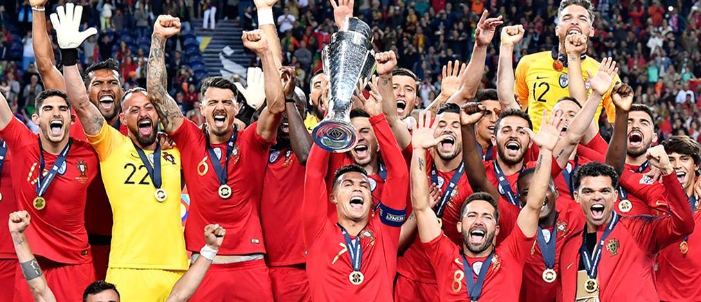 Nations League: σήκωσε την κούπα η Πορτογαλία