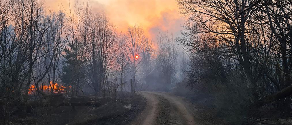 Ουκρανία: νεκροί από τις πυρκαγιές κοντά στο Τσέρνομπιλ