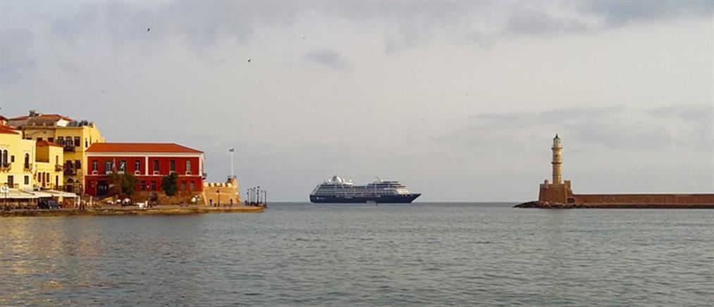 Υπερπολυτελές κρουαζιερόπλοιο για δεύτερη φορά στα Χανιά