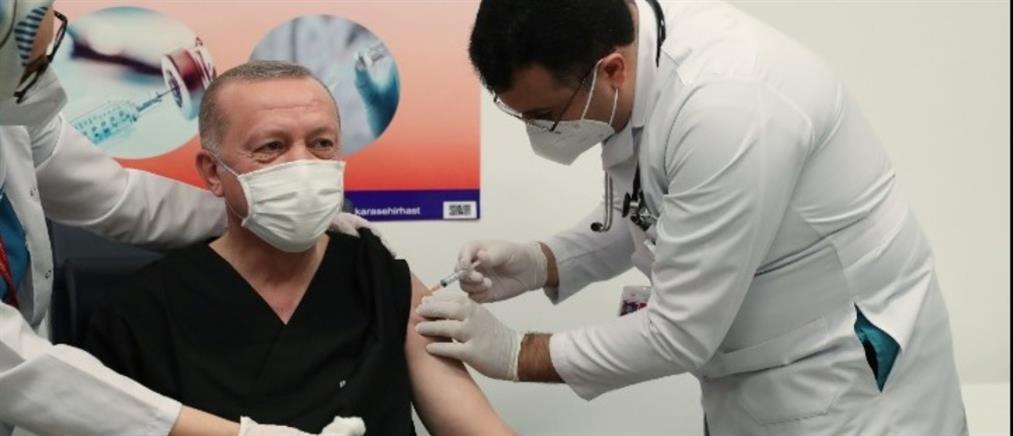 Εμβόλιο Sinovac: Ξεκίνησε ο εμβολιασμός στην Τουρκία