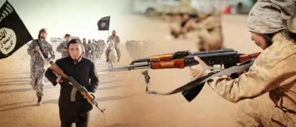 Τζιχαντιστές εκπαιδεύουν παιδιά στα όπλα